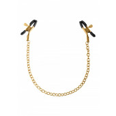 Chain Nipple Clamps - Gold