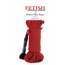 Deluxe Silky Rope Red
