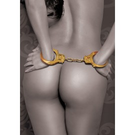 Gold Metal Cuffs